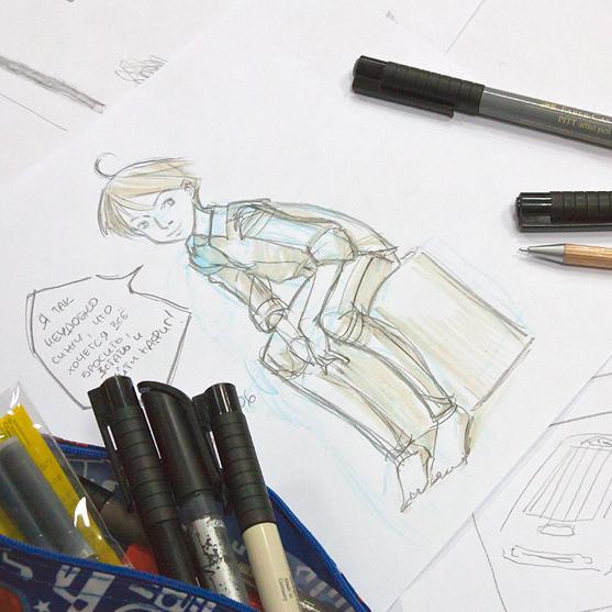 Итоги курса «Иллюстрация в стиле манга»